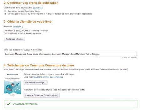 Vendre ebook Amazon KDP