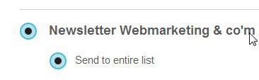 liste emailing auto repondeur mailchimp
