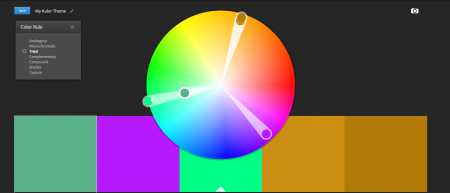Adobe Kuler palette de couleurs