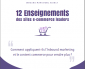 12 Enseignements des sites e-commerce leaders