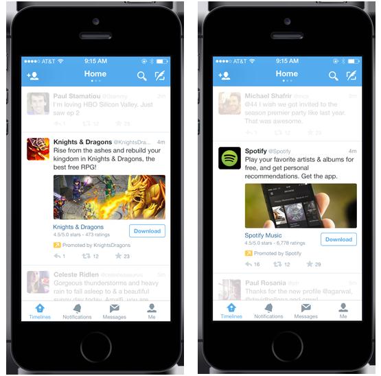 Twitter ADs: Pensez mobile