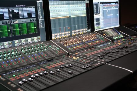Yamaha-NUAGE-studio