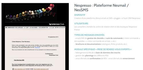 cas client nespresso