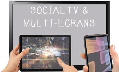 social tv et multi-écrans