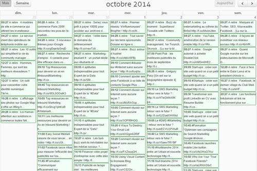 agorapulse crm twitter calendrier editorial