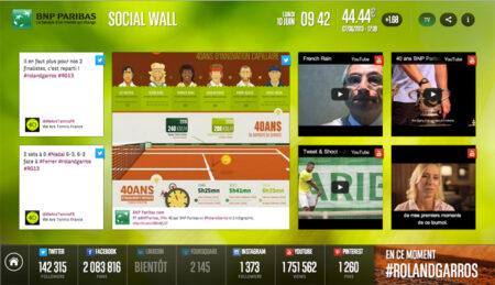 Social Wall: Twine Social