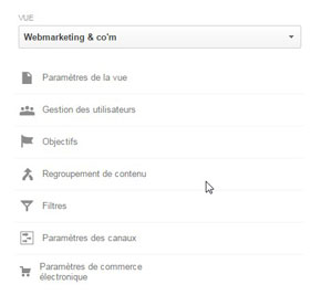 google analytics groupe contenus creation