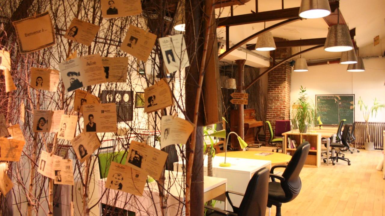 les 10 espaces de coworking parisiens conna tre. Black Bedroom Furniture Sets. Home Design Ideas