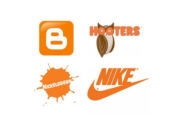 les logos orange