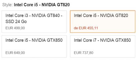 Le module d'up-selling d'Amazon est vraiment très efficace