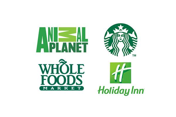 les logos vert
