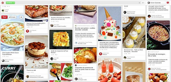 pinterest donne faim
