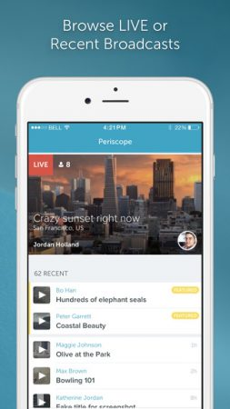 Periscope-screen