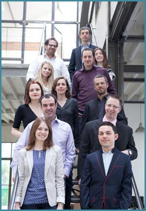 Une petite partie de l'équipe Webmarketing & co'm