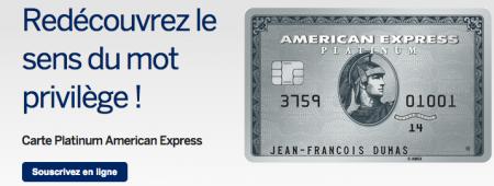 Pour ses fidèles clients, American Express propose des cartes vertes, or et platinum