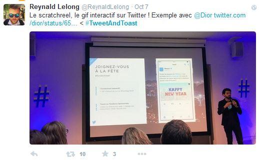 hashtag #tweetandtoast