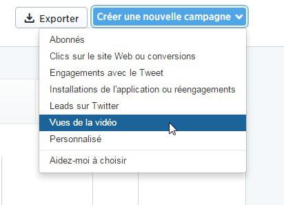 promouvoir vidéo twitter ads