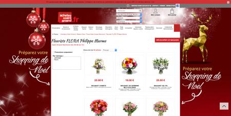 Fleuriste FLORA Philippe Marme Saint Amand Montrond dans le Cher