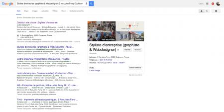 Styliste d entreprise graphiste Webdesigner 5 rue Jules Ferry Couleuvre Recherche Google