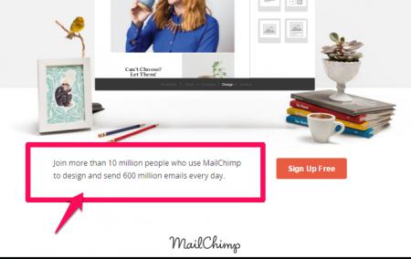mailchimp social proff