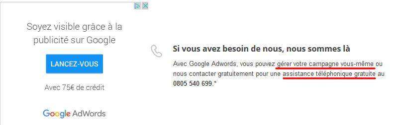 Offre Google