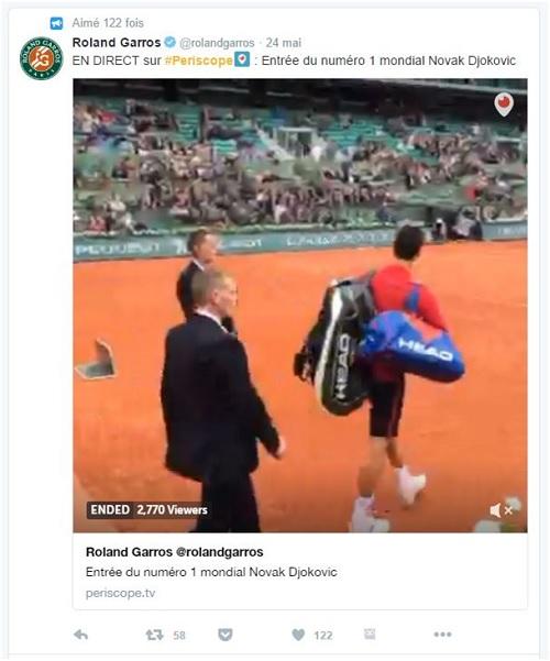 Les coulisses de Roland Garros 2016