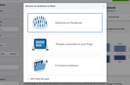 audience facebook lead ads
