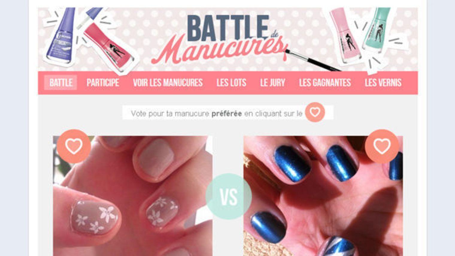 Jeux concours Battle manucures Bourjois