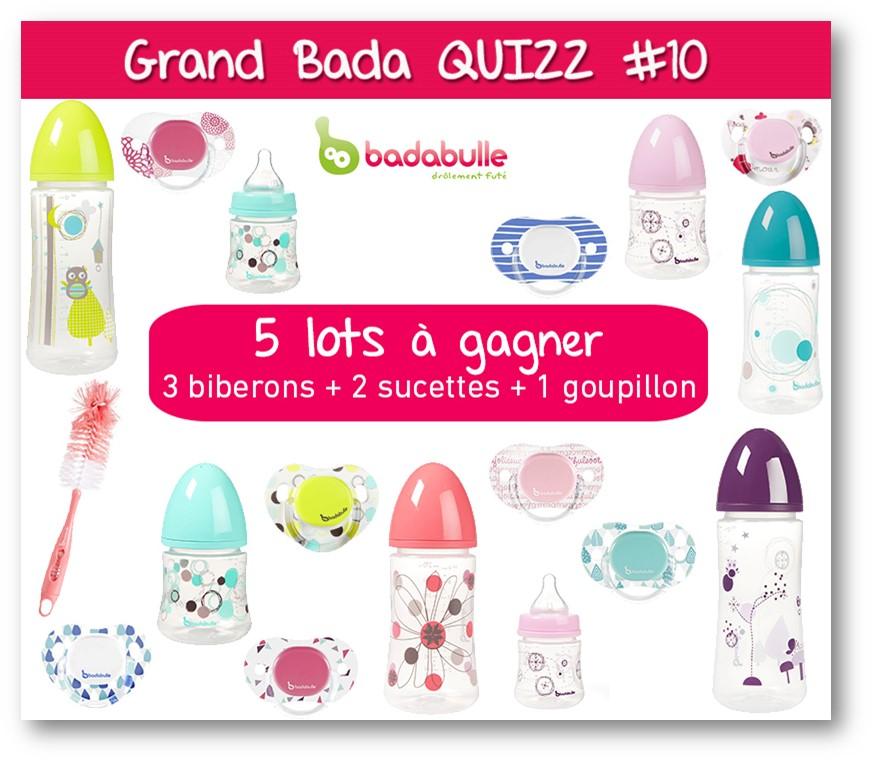Jeux concours Quizz Facebook Badabulle