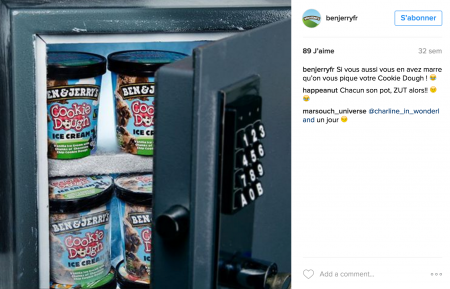 Content Marketing – Ben & Jerry's Instagram