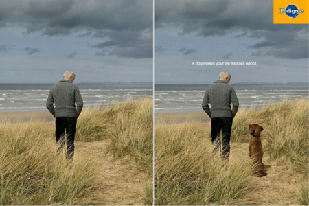 ©A dog makes your life happier, Adopt, AlmapBBDO-Brésil, 2013