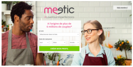 meetic agencement