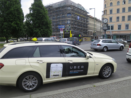 publicite uber taxi