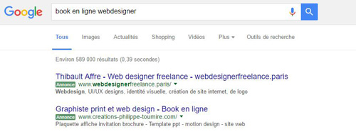 referencement book webdesigner