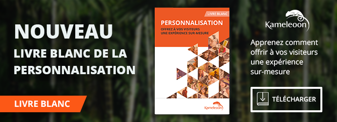 Livre Blanc Kameleoon - La personnalisation de l'expérience utilisateur n'est plus une option