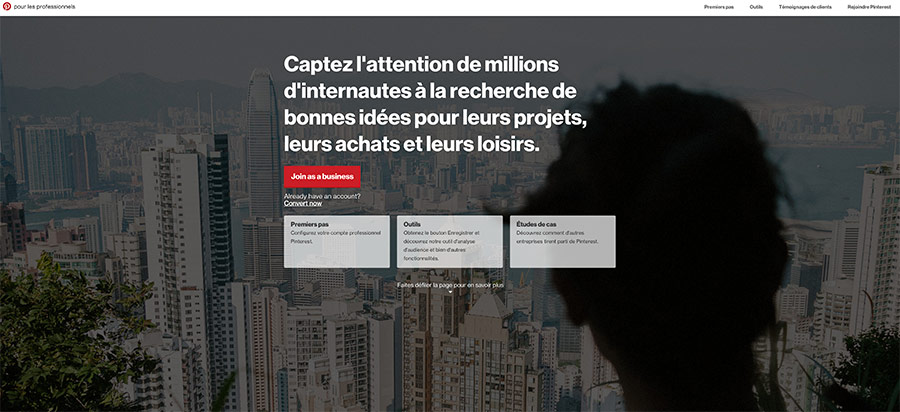 Pinterest et analytics