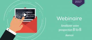 Webinaire d'EmailStrategie. Comment améliorer sa prospection B2B ?