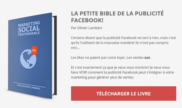 ebook publicité Facebook Lambert