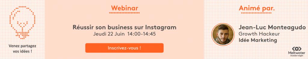 instagram webinar