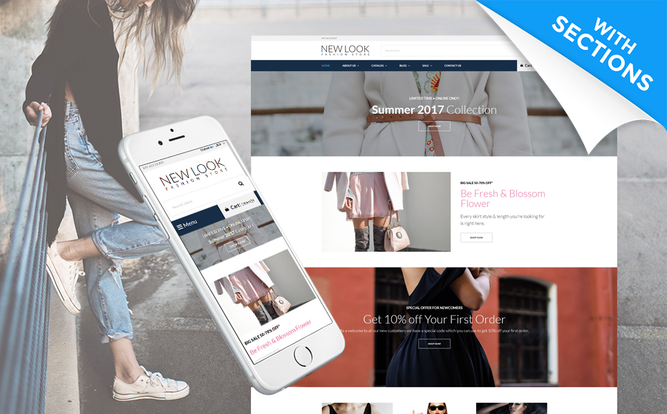 Multifly - Thème Shopify adaptatif pour votre magasin en ligne