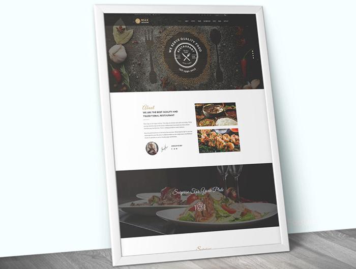 Thème WordPress adaptatif pour site de café