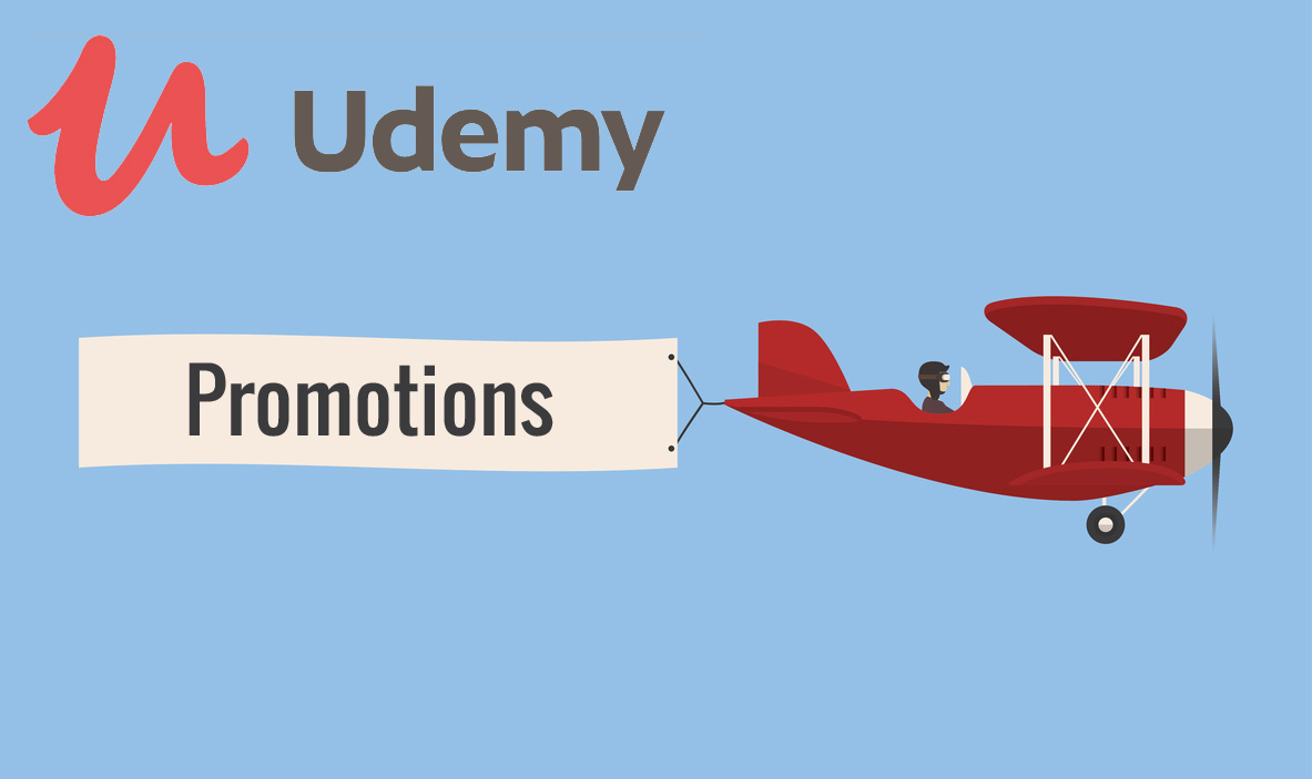 promotions formations udemy