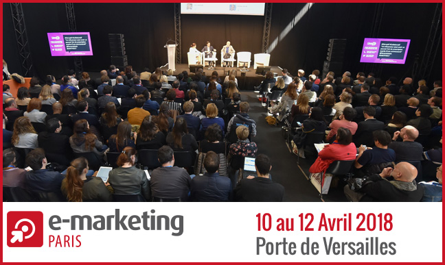 Rendez vous au salon e marketing paris 2018 du 10 au 12 for Porte de versailles salon formation artistique