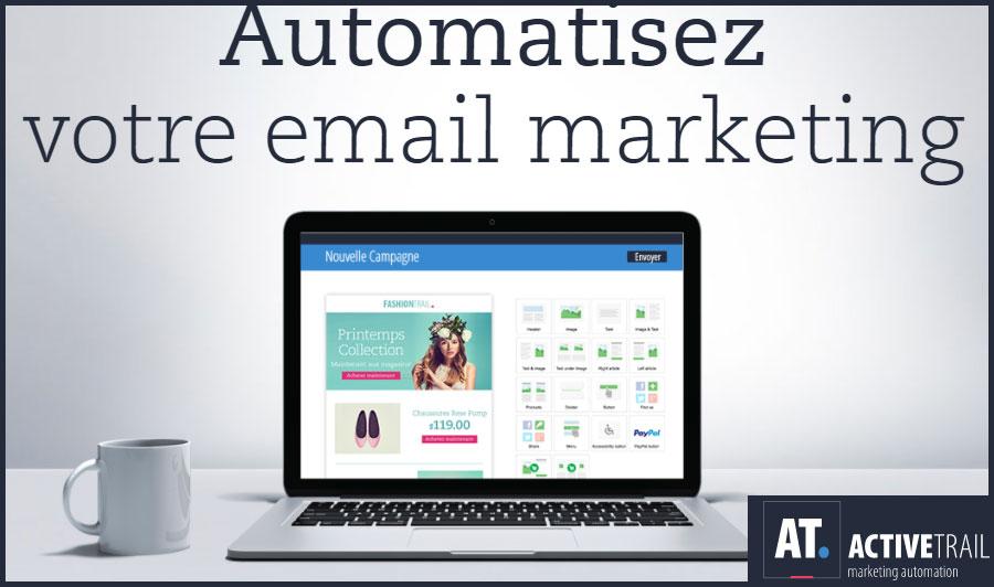 Test de l'outil de marketing automation ActiveTrail : notre avis