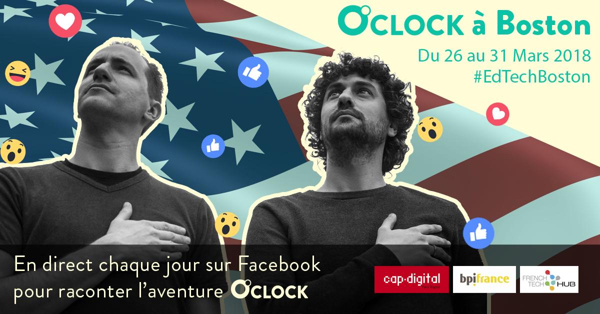 Startup française O'clock Boston téléprésentiel