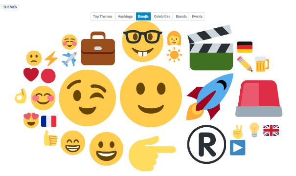 outil veille ereputation analyse emojis