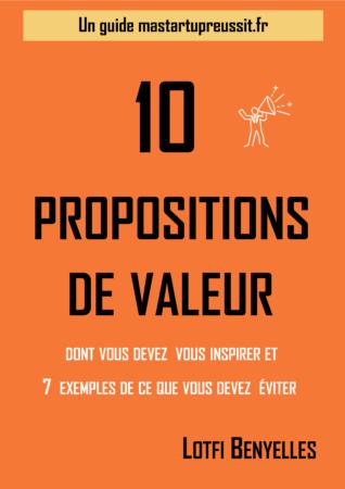 10 propositions de valeur