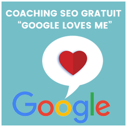 Coaching SEO Gratuit Google Loves Me