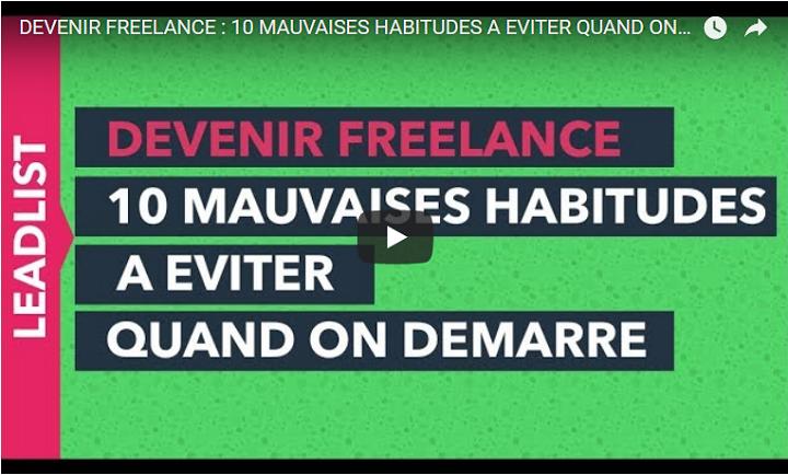 webmarketing-com.com - Fabien Berthoux - [VIDEO] Devenir freelance : les 10 mauvaises habitudes à éviter !