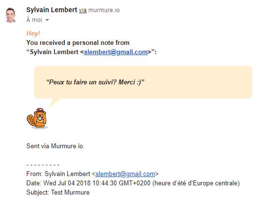 murmure gmail productivite